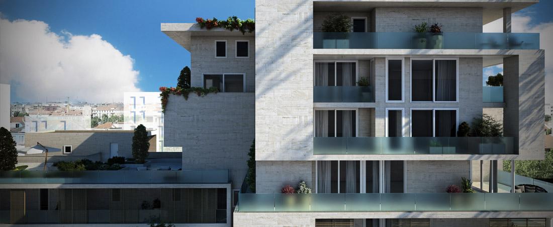Mittel immobiliare residenziale for Architettura residenziale contemporanea